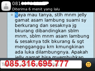 Testimoni Obat Herbal Jelly Gamat Gold-G