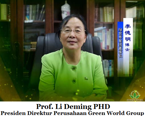 Prof Li Deming PHD