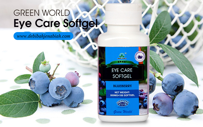 Harga Eye Care Softgel Green World yang Asli